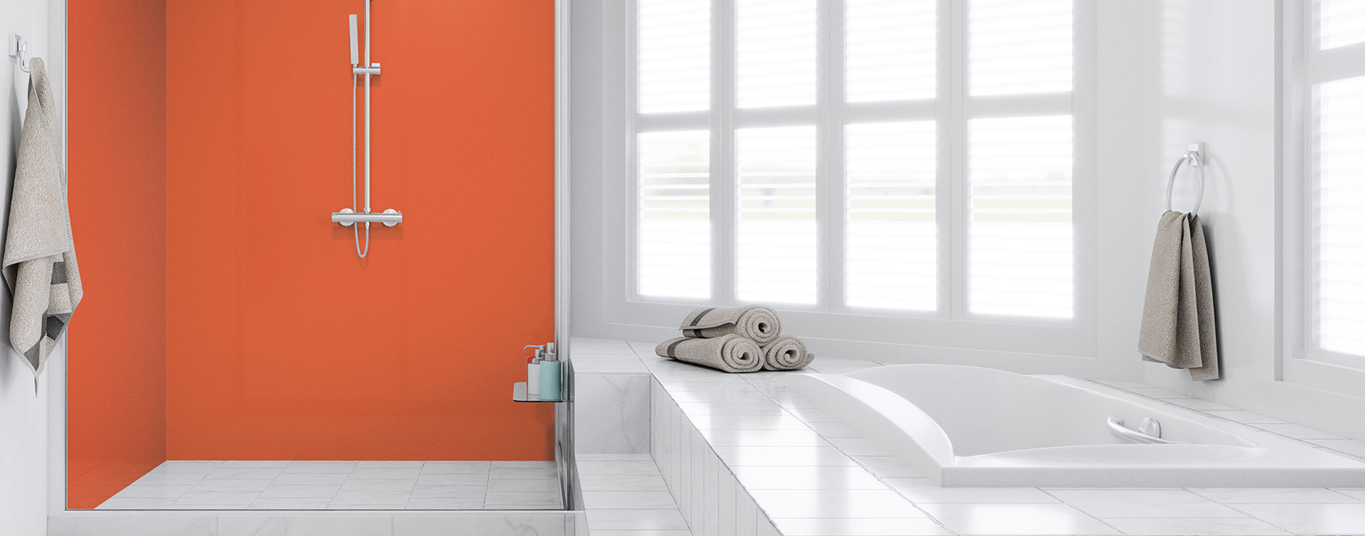 Fine Ative Bath Panels Pictures Inspiration - Bathroom with ...