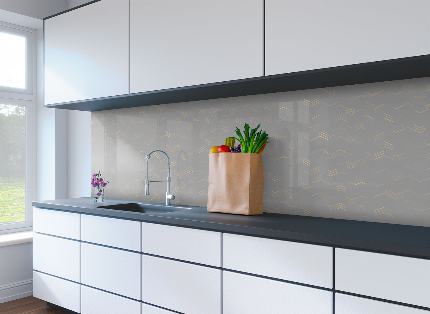 How To Add Colour To White Gloss Paint